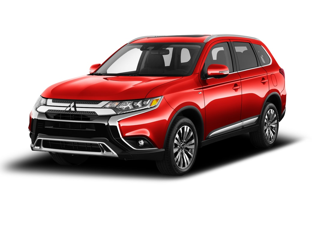 2019 Mitsubishi Outlander CUV Rally Red Metallic